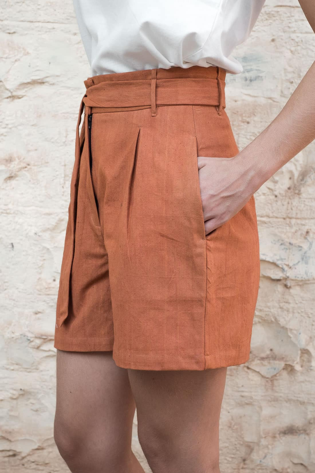 Shorts Smita  Rust from Jyoti - Fair Works