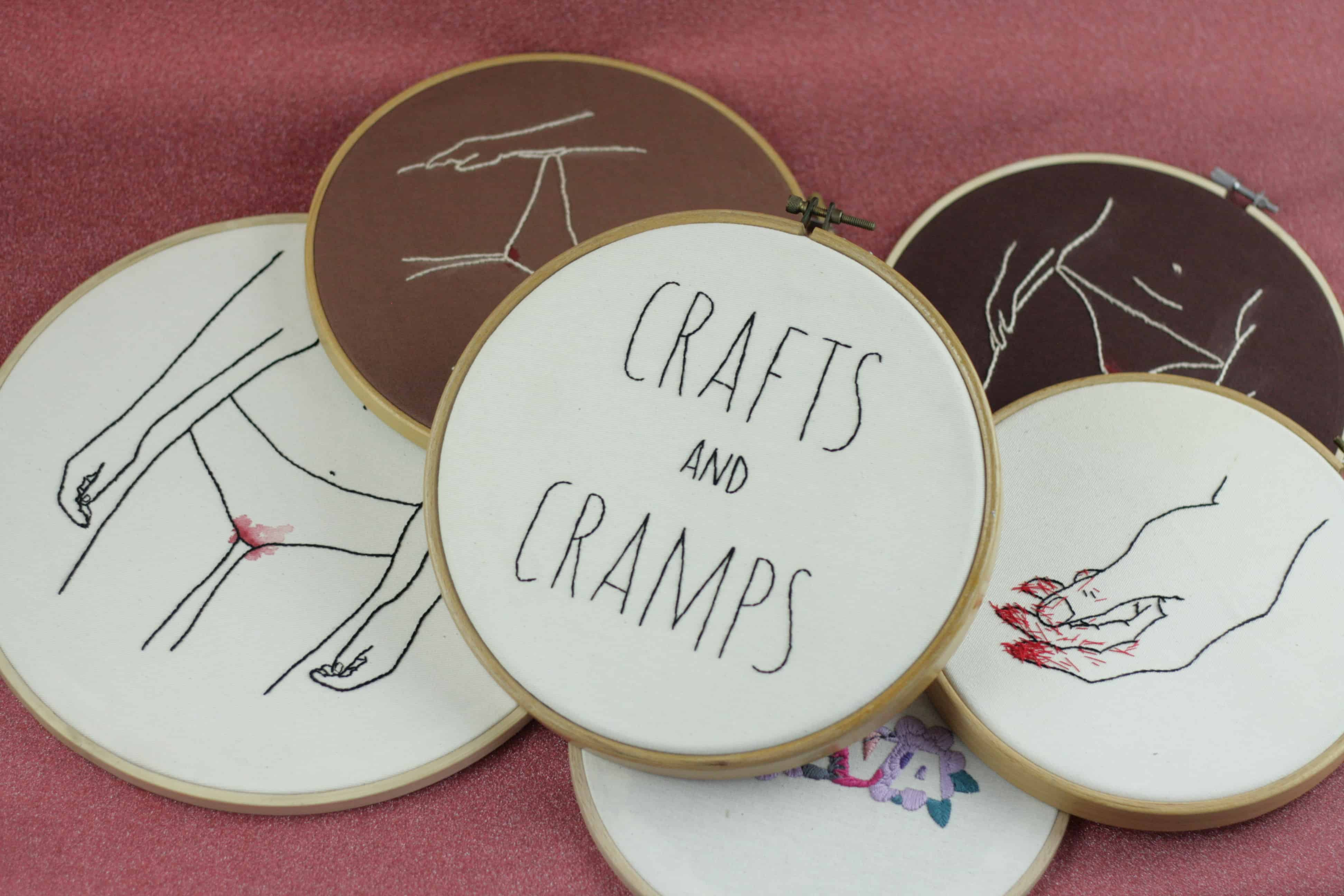 Stickereien von Crafts and Cramps