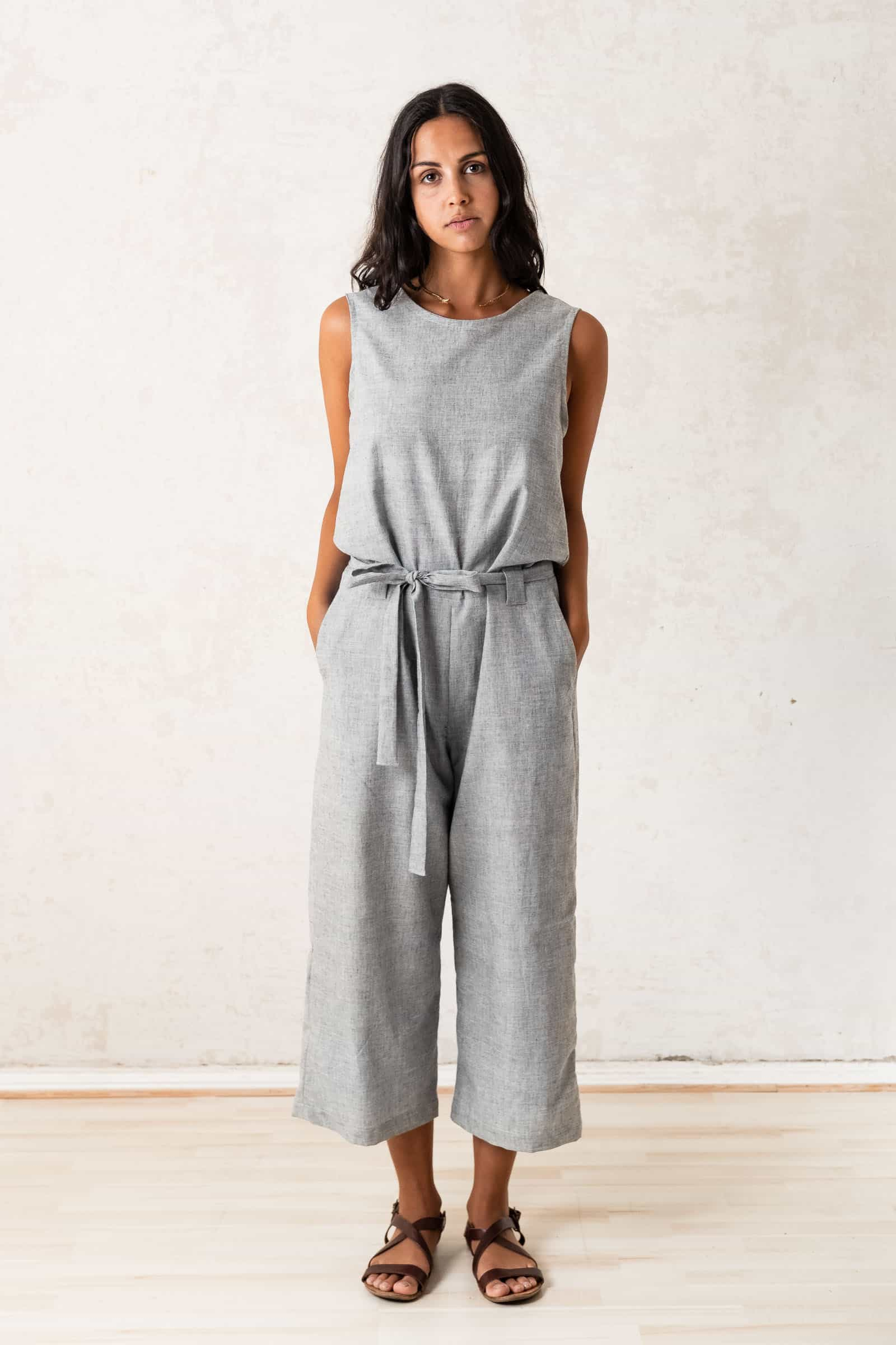 Jumpsuit Jalina  Light_grey from Jyoti - Fair Works