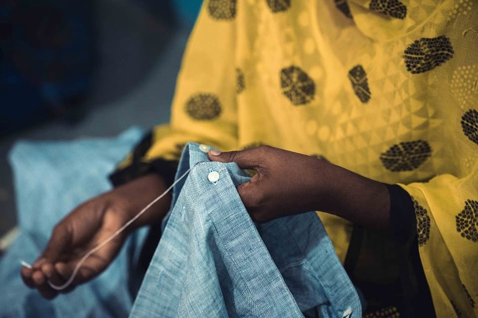Fairtrade sewing handicraft