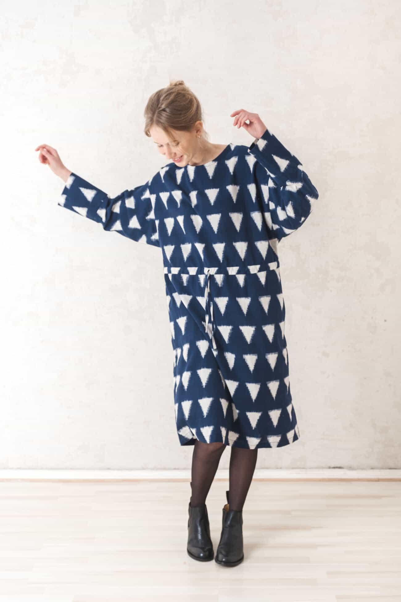 Dress Diya  Midnightblue from