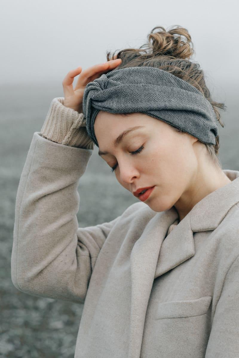 Headband Surekha  Wool from Jyoti - Fair Works