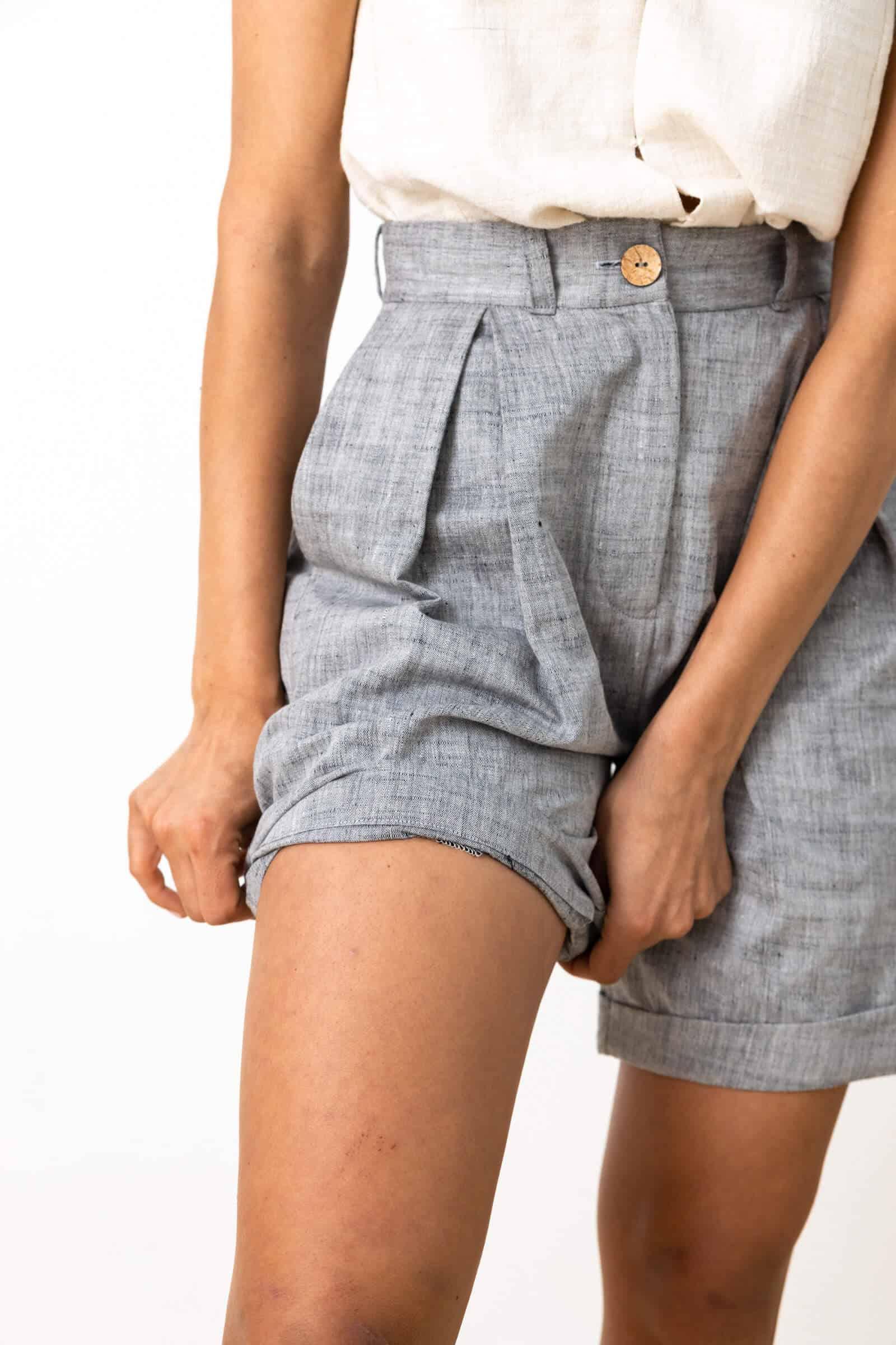 Shorts Dosti  Hellgrau from Jyoti - Fair Works